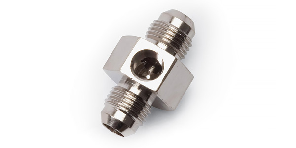 on Fuel Pressure Banjo Bolt Adapter